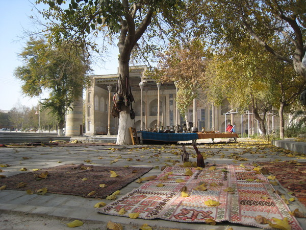 Bukhara (布哈拉) Bolo Hauz Mosque
