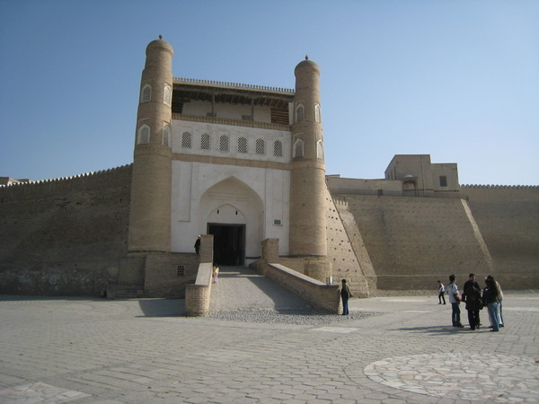 Bukhara (布哈拉) Ark front gate