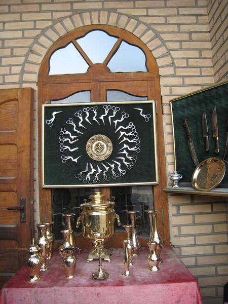 Bukhara (布哈拉) Toqi Zargaron(金市) 鳥剪與金屬工藝品