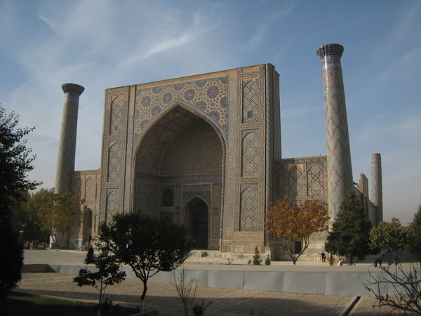 Samarkand (撒爾馬罕) Registan Square Ulugbek Madrassah