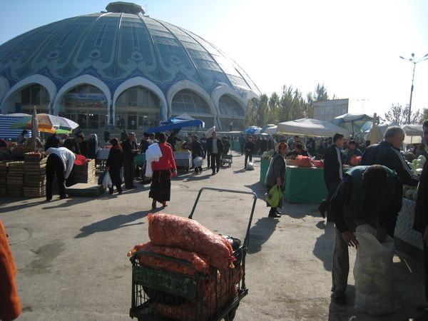Tashkent (塔什干) Eski Juva Chorsu 中央大市集