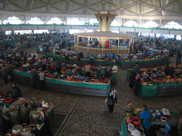 Tashkent (塔什干) Eski Juva Chorsu Dome 中央大市集室內區