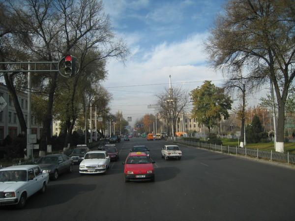Kyrgyzstan Bishkek Street Scene