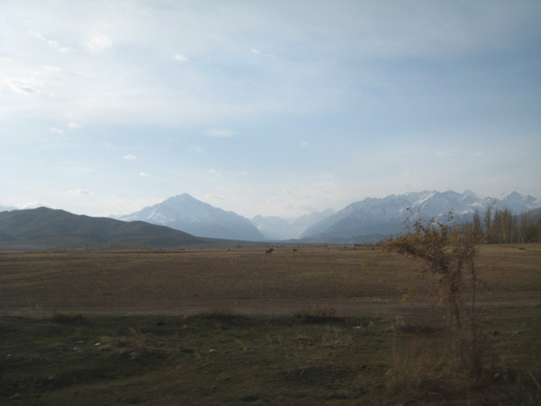 Issyk Kul and Tianshan