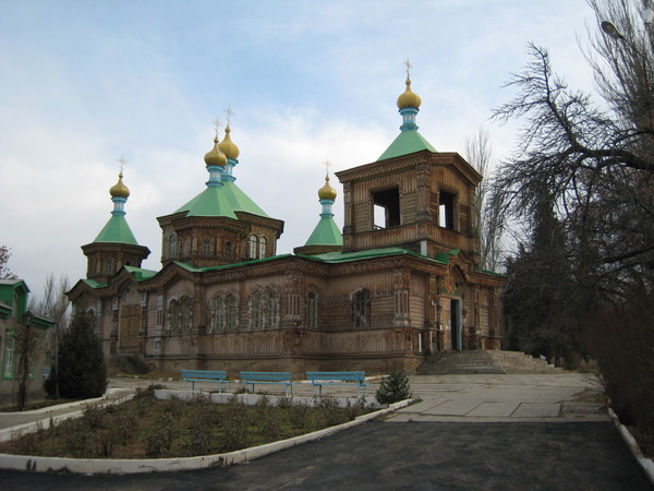 Krygzstan Karakol Russian Orthodox Church