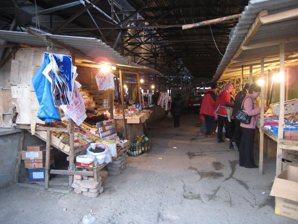 Krygzstan Karakol bazzar indoor part (ready to close)