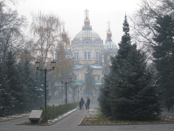 Kazakhstan Almaty Russian Orthodox Church