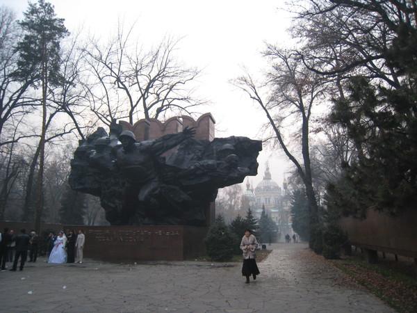 Kazakhstan Almaty The 28 Panfilov Heroes Memorial Park