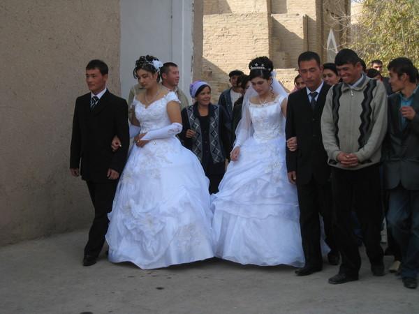 Uzbekistan Khiva Wedding Parade 2