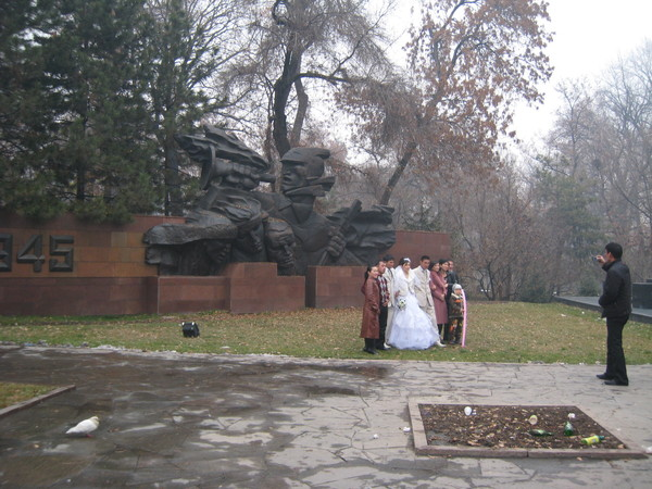 Kazakhstan Almaty Wedding Parade 1