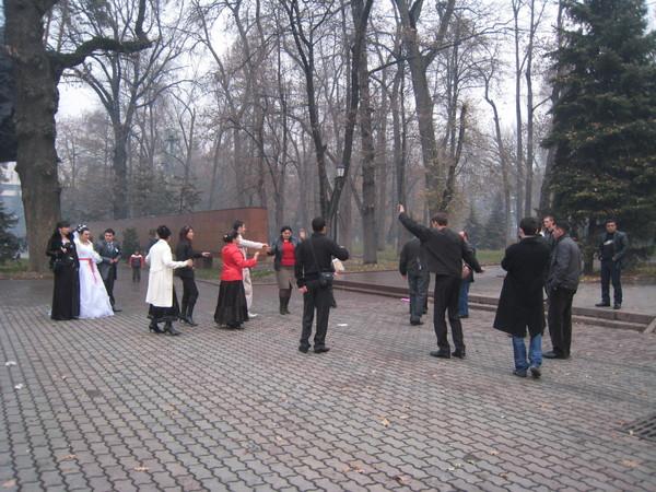 Kazakhstan Almaty Wedding Parade 2