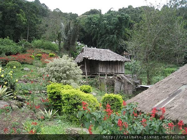 Mong tribe village