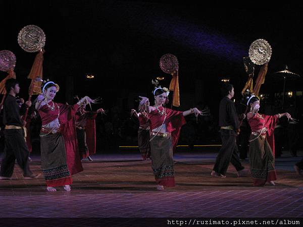 North Thailand folk dance