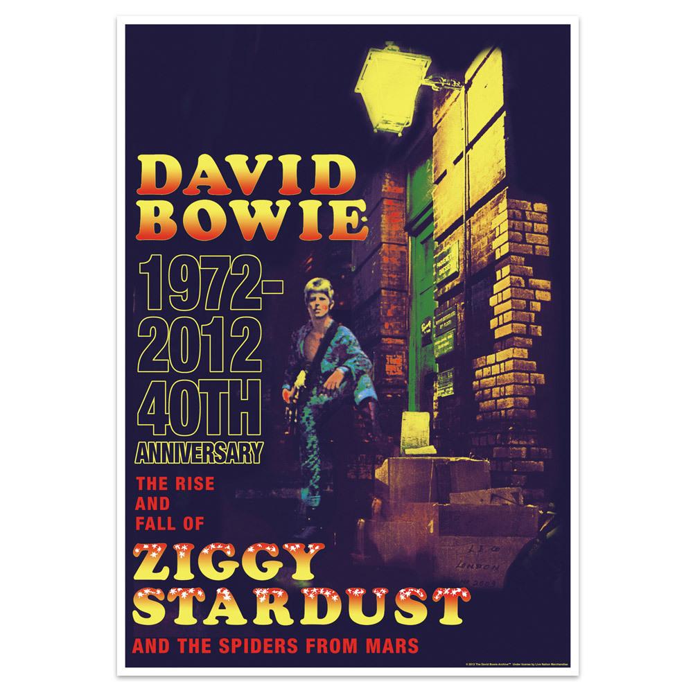 Ziggy Stardust 40th anniversary