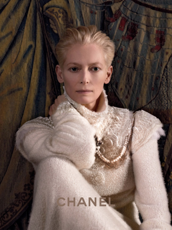Tilda Swinton Chanel Paris Edimbourg 1