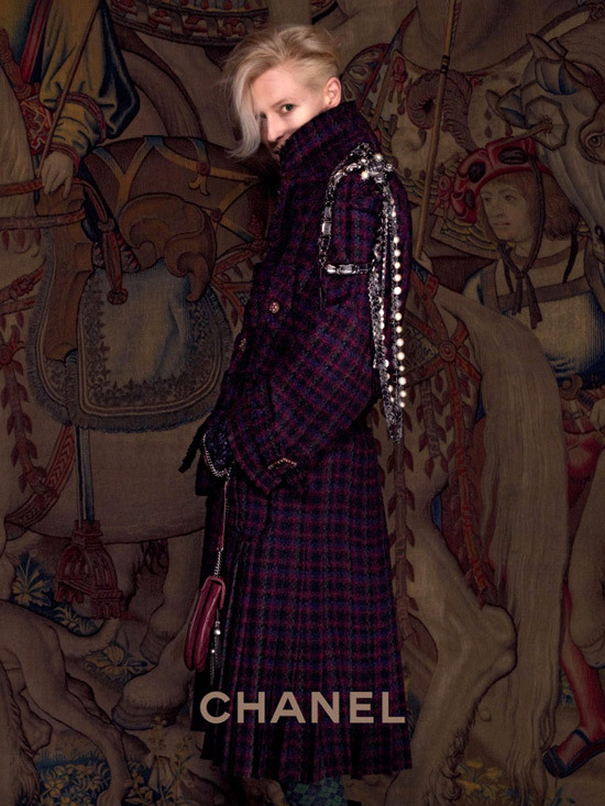 Tilda Swinton Chanel Paris Edimbourg 2