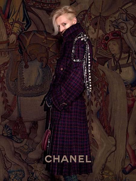 Tilda Swinton Chanel Paris Edimbourg 2