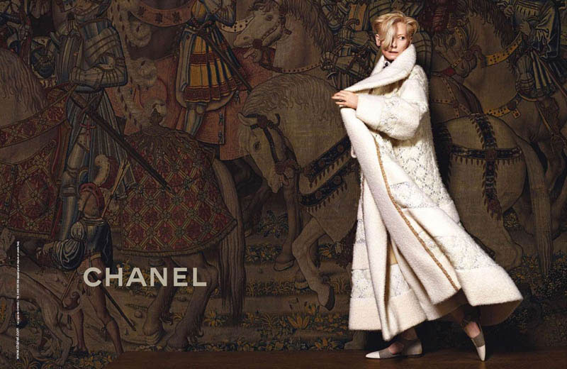 Tilda Swinton Chanel Paris Edimbourg 3