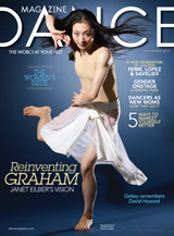 2013 Nov Dance Magazine Cover Graham