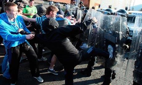 Nationalist clash