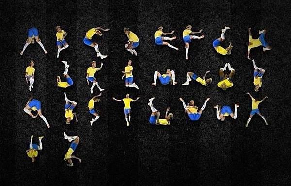 Neymar alphabet