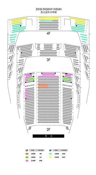 Kissin recital 2018 seatplan