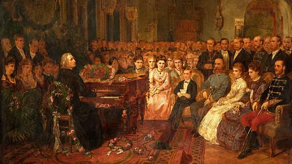 Liszt plays in boesendorfer piano in vienna