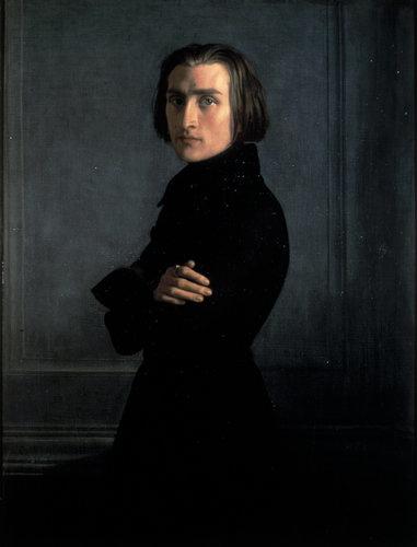 Liszt in 1839