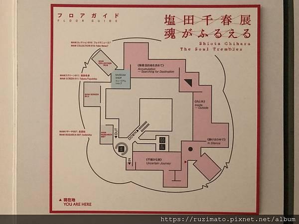 Exhibition floor map