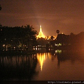 2006 in Yangon Shwedagon Pagoda view from outside