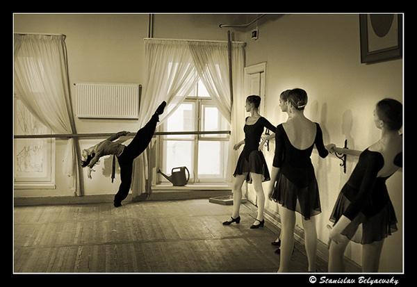Vaganova academy class character dance