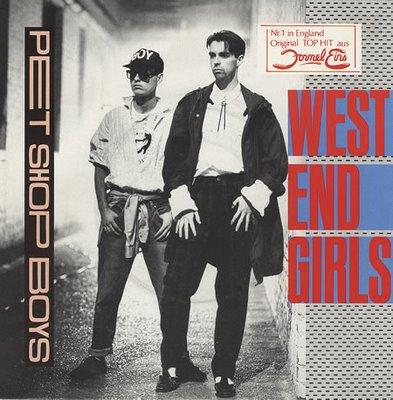 Pet Shop Boys West Ends Girl Single Cover