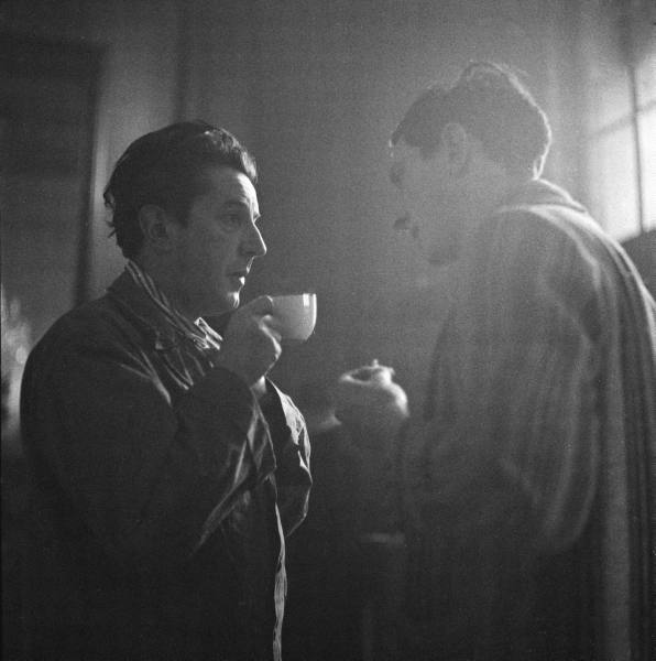 Ashton (Left) and Helpmann during rehearsal break in 1949