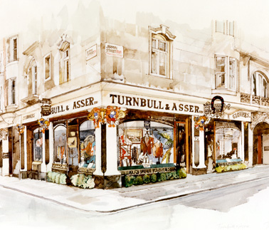 Jermyn Street in drawing