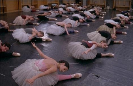 POB corp de ballet in rehearsal