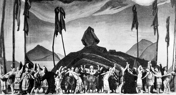 American stage premiere of le Sacre in 1930