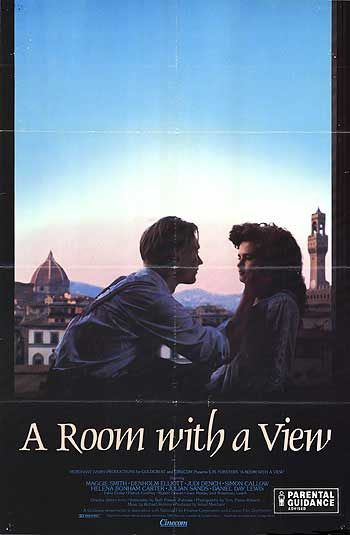 A room with a view - movie poster