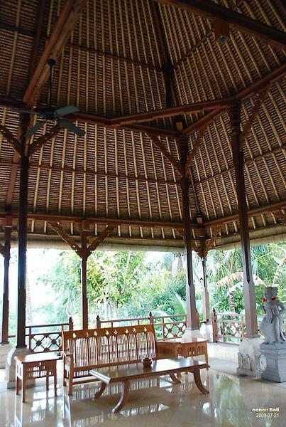 Bali Ubud Puri Wulandari Reception Bali Style Roof