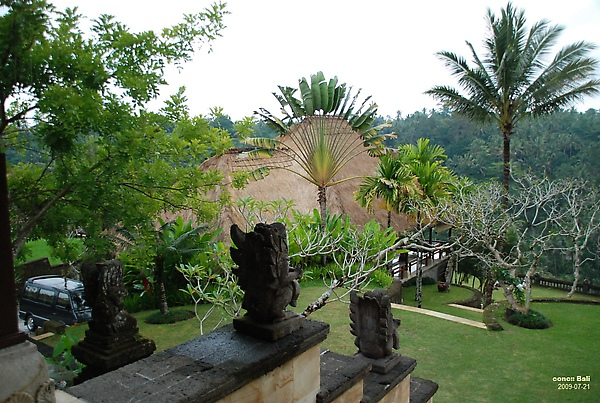 Bali Ubud Puri Wulandari View from reception