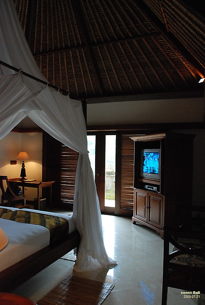 Bali Ubud Puri Wulandari bedroom