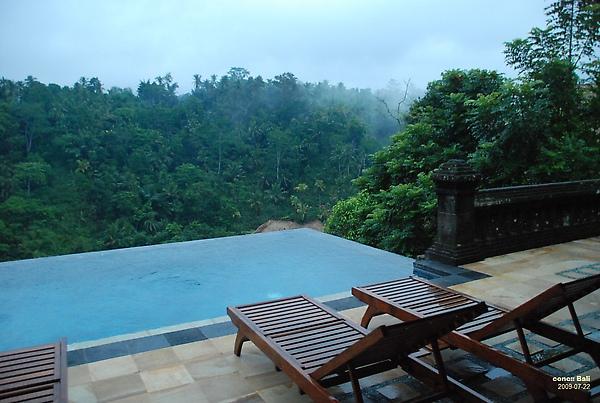 Bali Ubud Puri Wulandari private pool another angle
