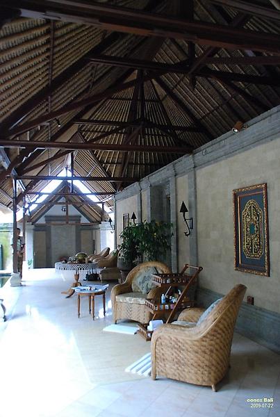 Bali Ubud Puri Wulandari lounge in spa