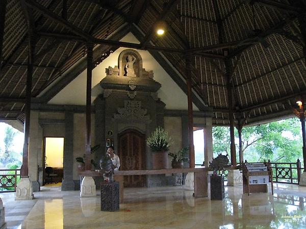 Bali Ubud Puri Wulandari reception