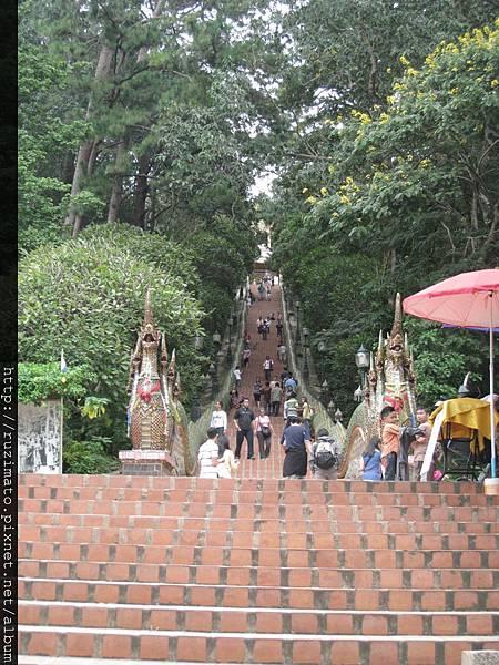Entrance of Wat Phra That Doi Suthep