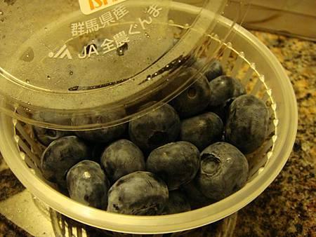 0709373-超市買的群馬縣產藍苺