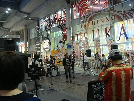 0725332-新市街商店街的音樂表演