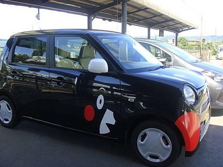 0726375-kumamon外貌的車