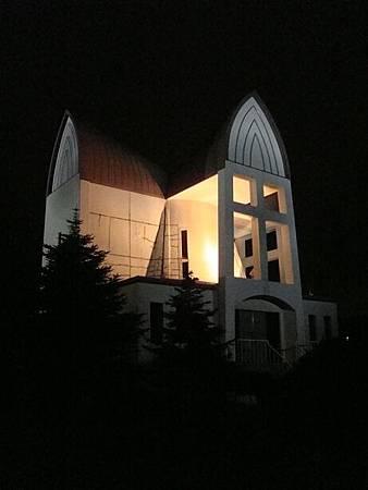 0710277-函館聖公會教堂夜色.JPG
