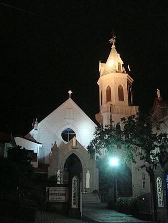 0710281-元町天主公教會夜色.JPG