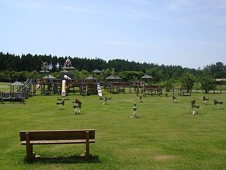 0713111-草坪上的兒童遊戲區.JPG